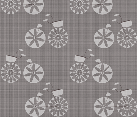 Bike fabric by tarabehlers on Spoonflower - custom fabric