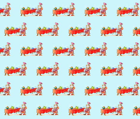 The Mad Knitter fabric by unicorgi on Spoonflower - custom fabric