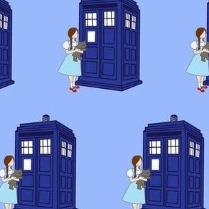 Dorothy meets the TARDIS