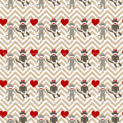 Sock Monkey Love