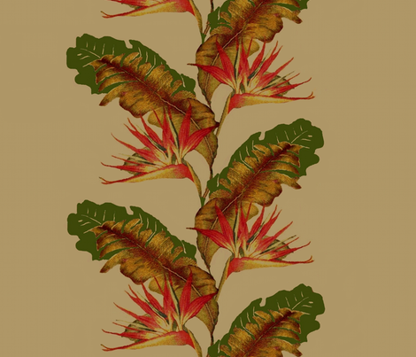 birds of paradise fabric by paragonstudios on Spoonflower - custom fabric