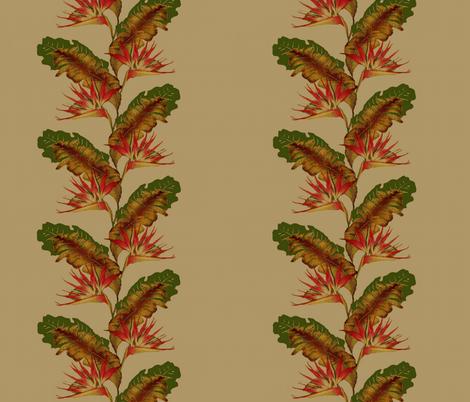 birds of paradise fabric by paragonstudios on Spoonflower - custom fabric