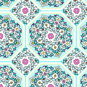 Persian Tile ~ Spring Break
