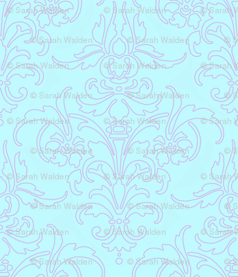 Borrow Your Outline Damask