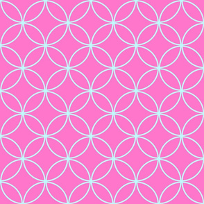 Circle Lock ~ Think Pink