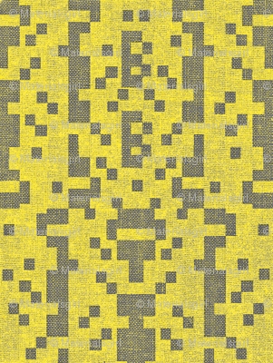 B-botz - yellow and charcoal grey