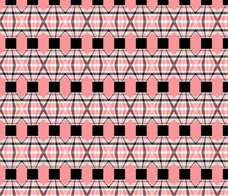 Pink Chinese Lanterns Seamless fabric by bluewrendesigns on Spoonflower - custom fabric