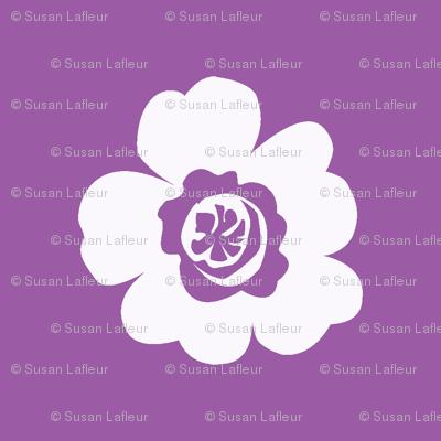 Les Fleurs Purple