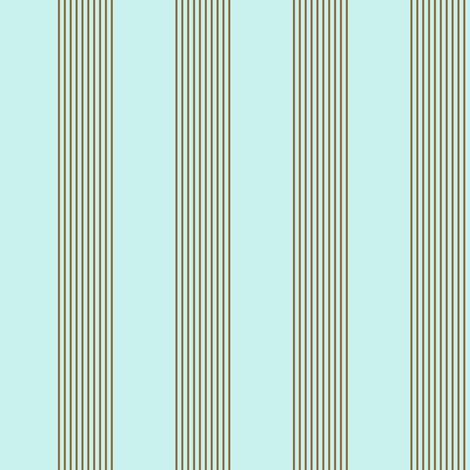 serene stripes (antique blue) fabric by weavingmajor on Spoonflower - custom fabric