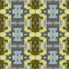 Grey and Yellow Geometric