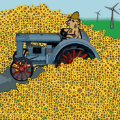 The Cow's Tractor