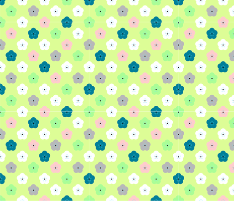 jasmine fabric by renateandtheanthouse on Spoonflower - custom fabric