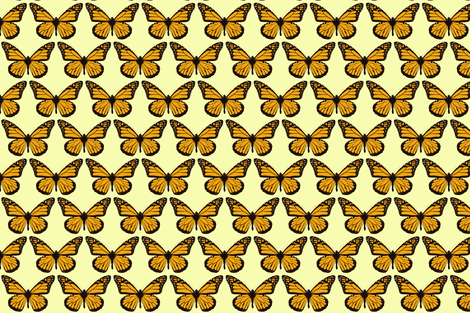 monarch butterfly fabric by sandeeroyalty on Spoonflower - custom fabric