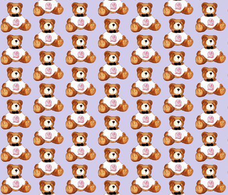 Bear5 fabric by koalalady on Spoonflower - custom fabric