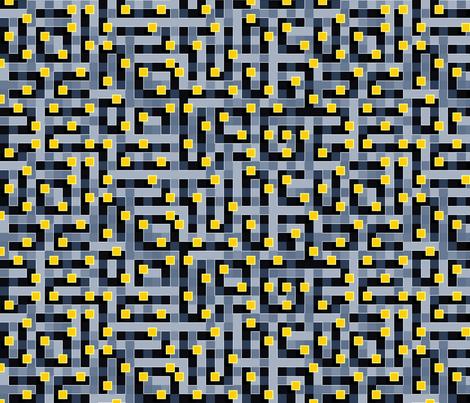 Cypher Spaceblock fabric by spellstone on Spoonflower - custom fabric