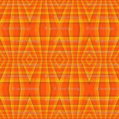 Orange_Geometric_Diamonds_Seamless