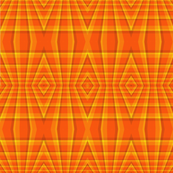 Orange_Geometric_Diamonds_Seamless
