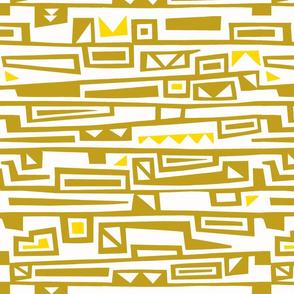 Tribal_Geo_Olive&Yellow