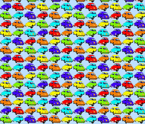 Summerbug fabric by zaffra on Spoonflower - custom fabric