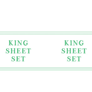 King sheet set linen closet storage bag