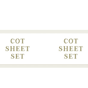 Cot sheet set linen closet storage bag