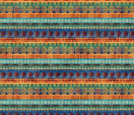 african stripe fabric by kociara on Spoonflower - custom fabric