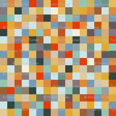 teeny gecko squares