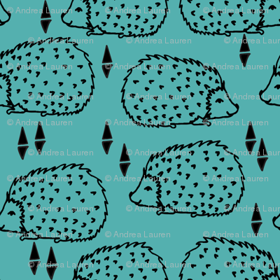 Hedgehogs - Tiffany Blue