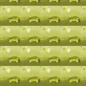 Yellow  scenic route