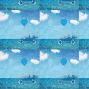 Blue scenic route