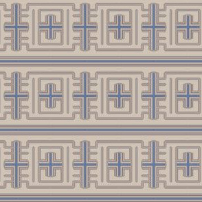 Prairie Frieze Geometric © Gingezel™ 2013