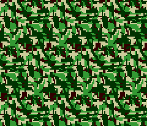 8bit_design fabric by vlike on Spoonflower - custom fabric