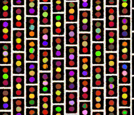 Traffic Signals fabric by twilfley on Spoonflower - custom fabric