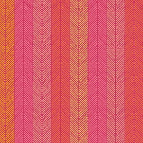 Chevron Ikat Stripes