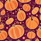 Vibrant Pumpkins