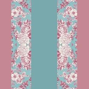 Fabric_Floral Stripe