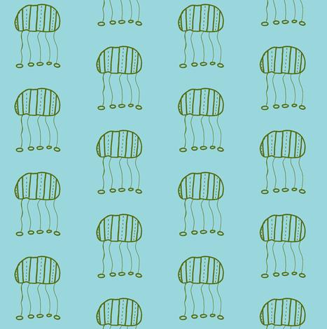 seaweed green jellyfish