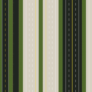 highways and byways awning stripe