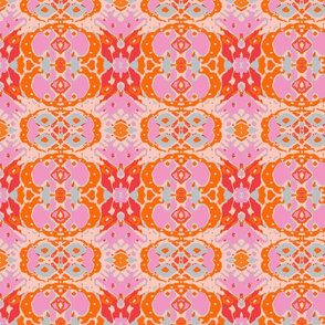 Suzi/Peach/Orange/ Pink/Light Blue
