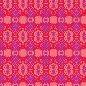 Suza/Peach/Red/Purple