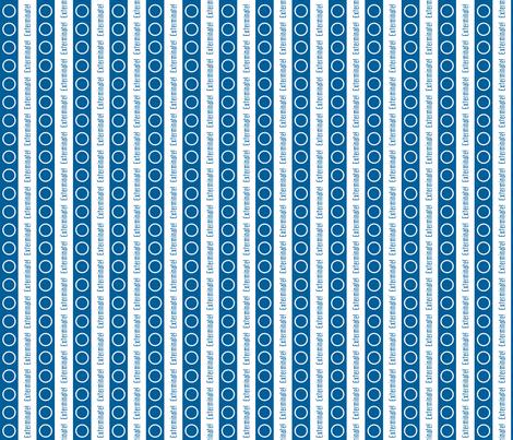 Dalek Stripes on White