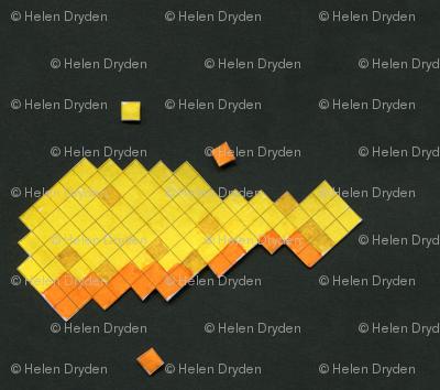 Paper Pixel - Fried Chicken