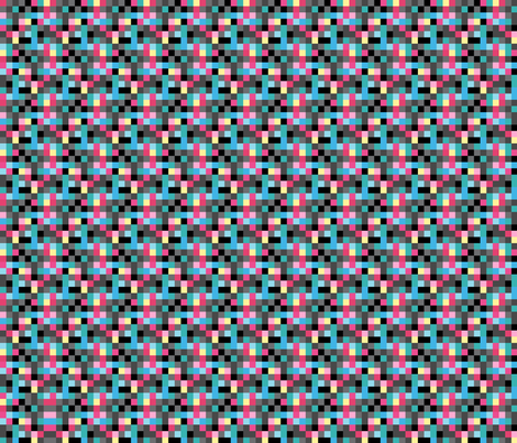 8bitV2_kfay fabric by kfay on Spoonflower - custom fabric
