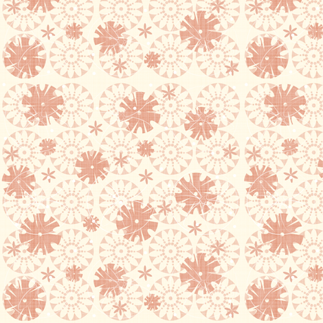 Punchflower2 fabric by tarabehlers on Spoonflower - custom fabric