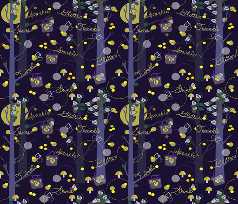 Light Up the Nite fabric by woolboxstudio on Spoonflower - custom fabric