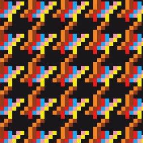 Pixels pied-de-poule (Black)
