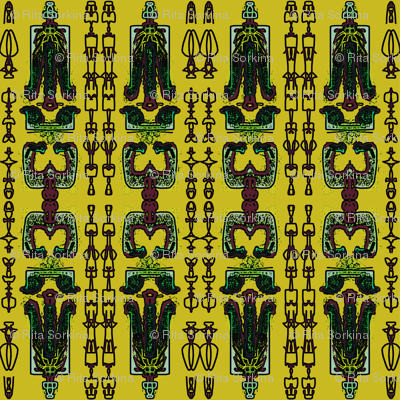 TRIBAL LIFE_in yellow