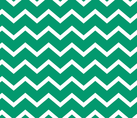 jamestown chevron emerald fabric by juneblossom on Spoonflower - custom fabric