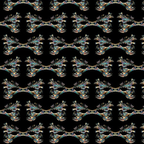Chemical crystals (Towbin solution) - polarised light microscopy