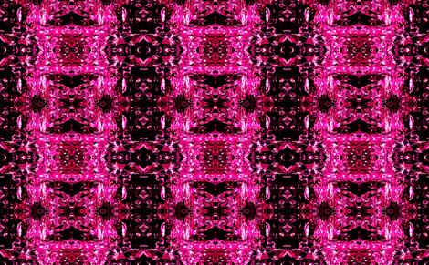 foiled again! hot pink